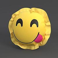 笑脸抱枕3d模型