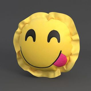 笑脸抱枕3d模型3d模型
