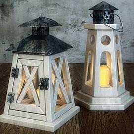 地中海地灯模型