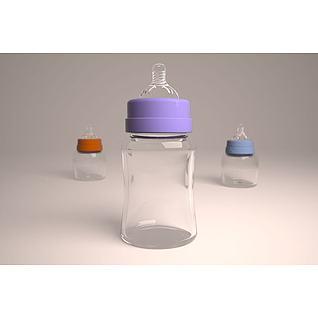 奶瓶3d模型