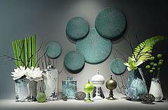新中式花瓶装饰品模型3d模型