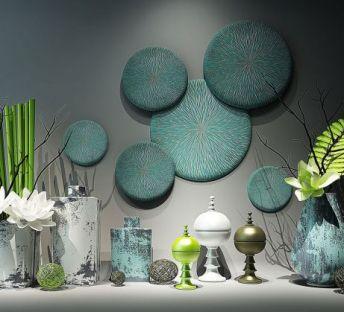 新中式花瓶装饰品