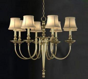 欧式金属奢华吊灯