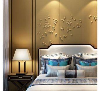新中式卧室床具