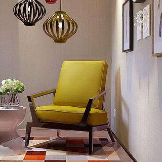 休闲沙发吊灯组合3d模型