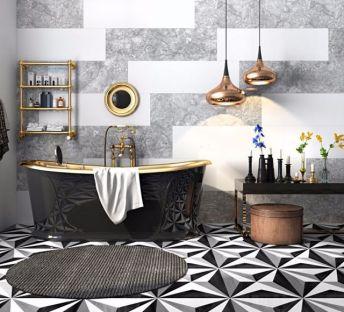 奢华浴缸沐浴小件组合