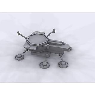 星际飞机3d模型