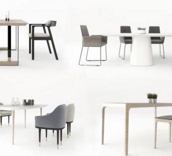 时尚餐桌椅