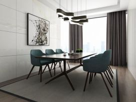 现代餐桌椅3d模型