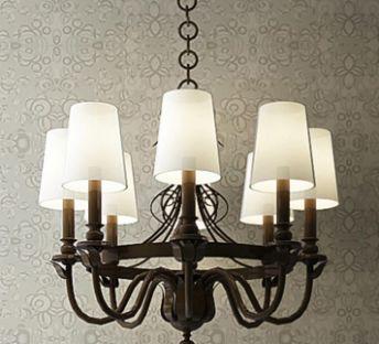 欧式灯罩吊灯