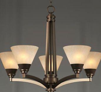 美式灯罩吊灯