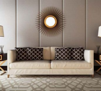 现代沙发饰品组合