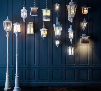 欧式室外壁灯路灯组合