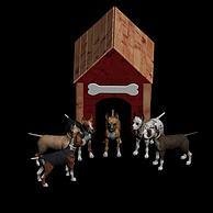 狗3D模型3d模型