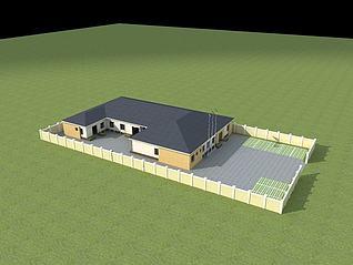非洲诊所3d模型