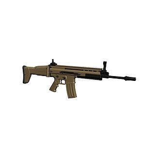 突击步枪3d模型