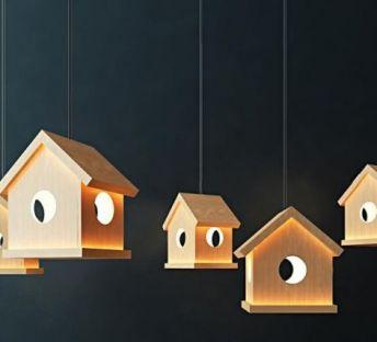 小木屋吊灯