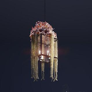 装饰花灯3d模型