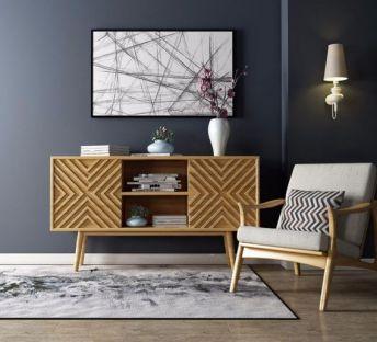北欧时尚电视柜单椅组合