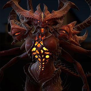怪物3d模型