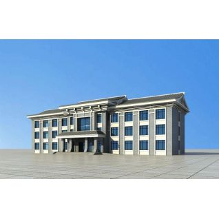 朝鲜服务站3d模型