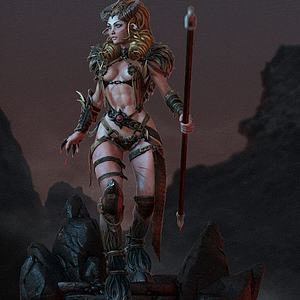 3d游戏人物模型