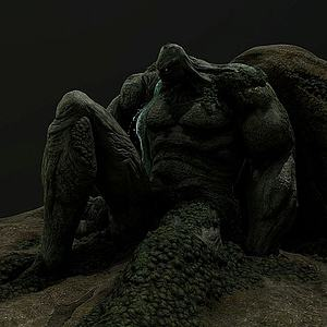 3d怪物模型