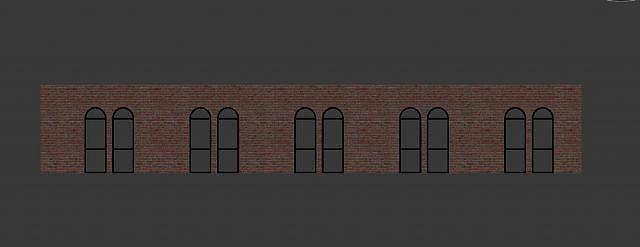 欧式窗户模型