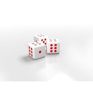 骰子3d模型