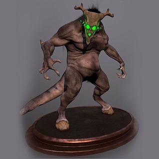 3D游戏怪物3d模型