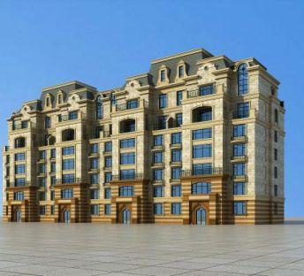 欧式住宅公寓