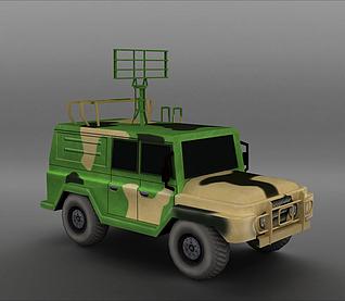 越野车3d模型