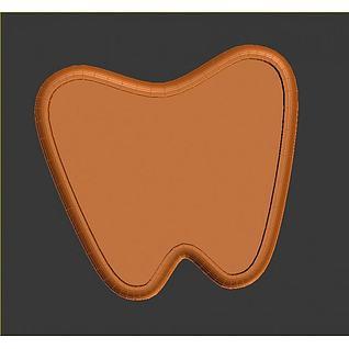牙齿3d模型3d模型