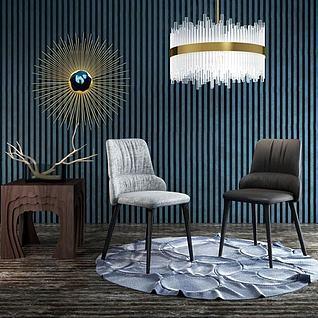 后现代创意椅子3d模型
