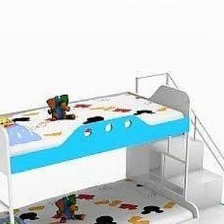 儿童上下床3d模型