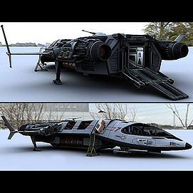 超真实版飞船模型