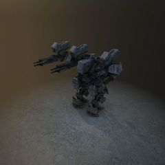 游戏机器人模型3d模型