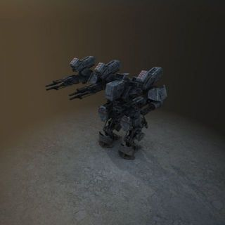 游戏<font class='myIsRed'>机器人</font>3d模型