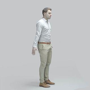 男人3d模型