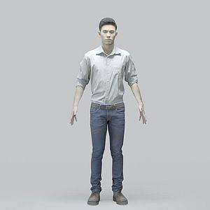 亚洲男人模型