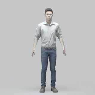 亚洲男人3d模型