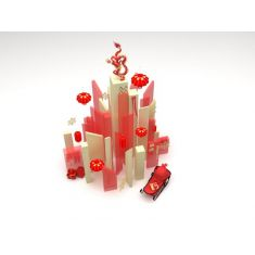 春节陈列品3D模型3d模型