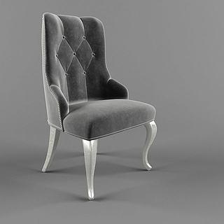 简欧<font class='myIsRed'>餐椅</font>3d模型