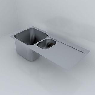 洗菜盆3d模型