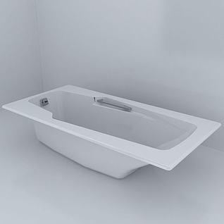 浴缸3d模型