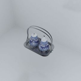 调料罐子模型