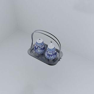 调料罐子3d模型