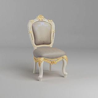 奢华椅子3d模型3d模型
