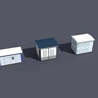 配电间3d模型