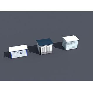 配电间3d模型3d模型